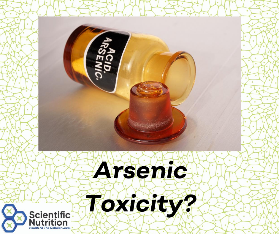 Could you have heavy metal Arsenic toxicity?