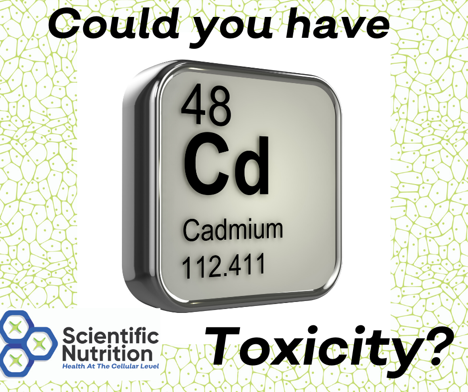Do you have heavy metal Cadmium toxicity?
