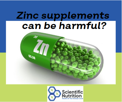 Can taking Zinc protect me or hurt me?
